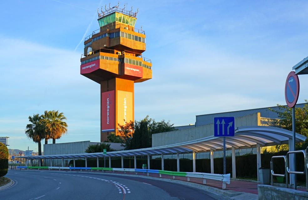 Der Flughafen Barcelona BCN in El Prat del Llobregat. (#10)