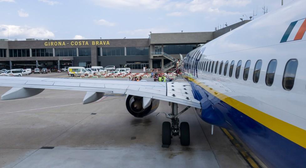 Flughafen GRO Girona, Costa Brava Flughafen. (#11)