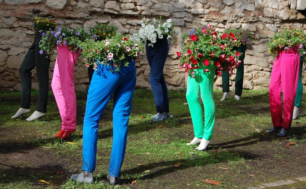 """Das Blumenfest """"Temps de Flors"""" findet in Girona in der zweiten Maiwoche statt. Katalonien kann so farbenfroh sein... (#3)"""